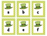 St. Patrick's Day ABC Order (Uppercase and Lowercase)