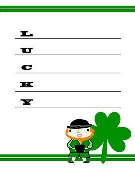 St. Patrick's Day Acrostic Poetry