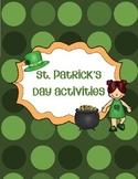 St. Patrick's Day Activites