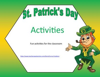 March - St. Patrick's Day Activities