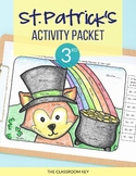 St. Patrick's Day Activities Packet for 3rd Grade
