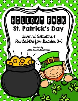St. Patrick's Day {Activities & Printables}