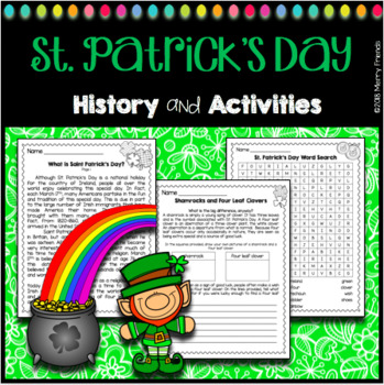 St. Patricks Day Activities and History St. Patrick's Day
