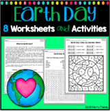 Earth Day Activities and Worksheets