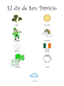 St. Patrick's Day Activities in Spanish