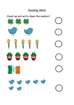 St Patricks Day Activity Book
