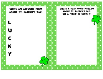 St. Patrick's Day Activity Book [HOLIDAY FUN]