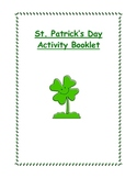 St. Patrick's Day Activity Booklet