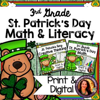 St. Patrick's Day Activity BUNDLE for 3rd: St. Patrick's D