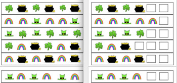 St Patricks Day Activity Bundle Treasure, Rainbows and Pots of Gold