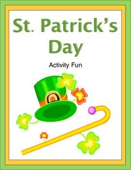St. Patrick's Day Activity Fun