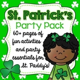 St. Patrick's Day Activity Pack {Fun Printables + Editables!}