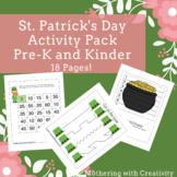 St. Patrick's Day Activity Pack: Preschool, Pre-K, Kinderg