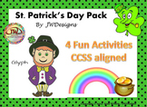 St. Patrick's Day - Glyph, Math and Literacy Activities