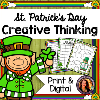 St. Patrick's Day Literacy Activities: Puzzles, Limericks & MORE!
