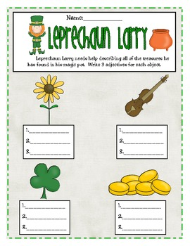 St. Patrick's Day Activity Set: 11 Different Activities
