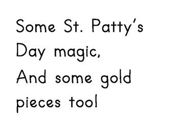 St. Patrick's Day Activity/Poster