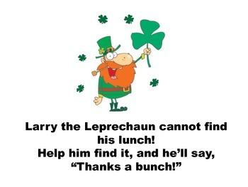 St. Patrick's Day Interactive Book: Larry the Leprechaun