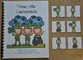 """St. Patrick's Day Adapted Book--""""Three Little Leprechauns"""""""
