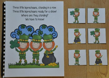 "St. Patrick's Day Adapted Book--""Three Little Leprechauns"""