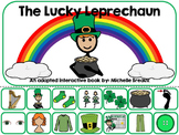 St. Patrick's Day Adapted Interactive Book Special Education, SLP, Autism