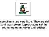 St. Patrick's Day Adaptive Book + Comprehension Acitivties autism-lang tx