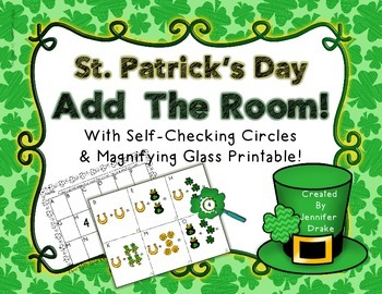 St. Patrick's Day Add the Room to 10; PLUS Shamrock Magnifying Glasses!
