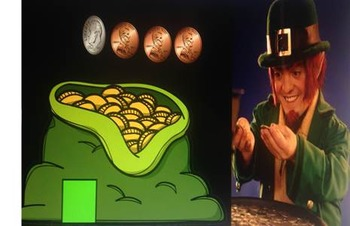 St. Patrick's Day Adding Coins