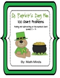 St. Patrick's Day: Adding and Subtracting on the Hundred Chart