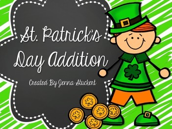 St. Patrick's Day Addition! (Roll and Cover Game)