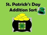 St. Patrick's Day Addition Sort