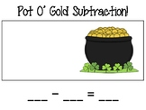 St. Patricks Day Addition and Subtraction Mats