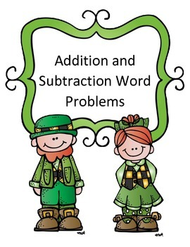 St. Patrick's Day Math Activity Addition and Subtraction Word Problems Joke