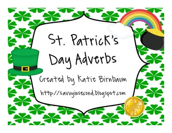 St. Patrick's Day Adverbs