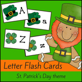 St Patrick's Day Letter Flash Cards