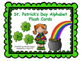 St. Patrick's Day Alphabet Flash Cards