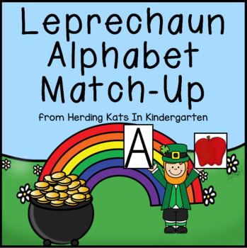St. Patrick's Day Alphabet Match-Up