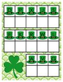 St. Patrick's Day Alphabet Matching Activity
