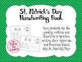 St. Patrick's Day Alphabet/Handwriting Book