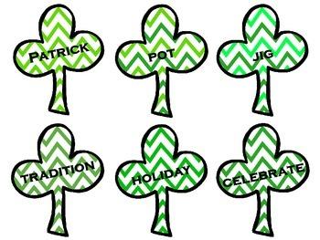 St. Patrick's Day Alphabetical Order (ABC Order)