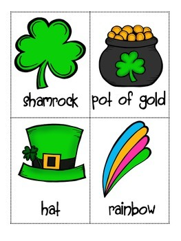 St. Patrick's Day Alphabetical order