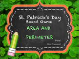 St. Patrick's Day Area and Perimeter Game