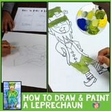 How to Draw a Leprechaun  - Great St. Patricks Day Activity