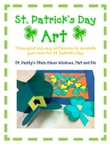 St Patrick's Day Art and Craft - 3 Projects to decorate your room