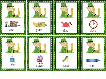 St. Patrick's Day Articulation Picture Pack: R,S,L,R/S/L Blends