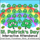 St. Patrick's Day Attendance for All Interactive Whiteboards