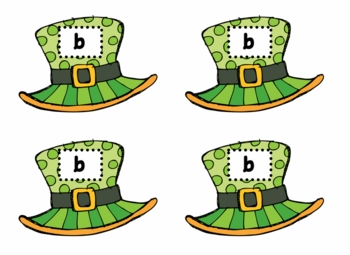St. Patrick's Day B/D and P/Q Lowercase Sorts