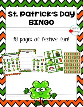 St Patricks Day BINGO