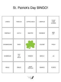 St. Patrick's Day BINGO!