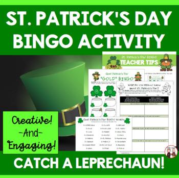 St. Patrick's Day BINGO Activities